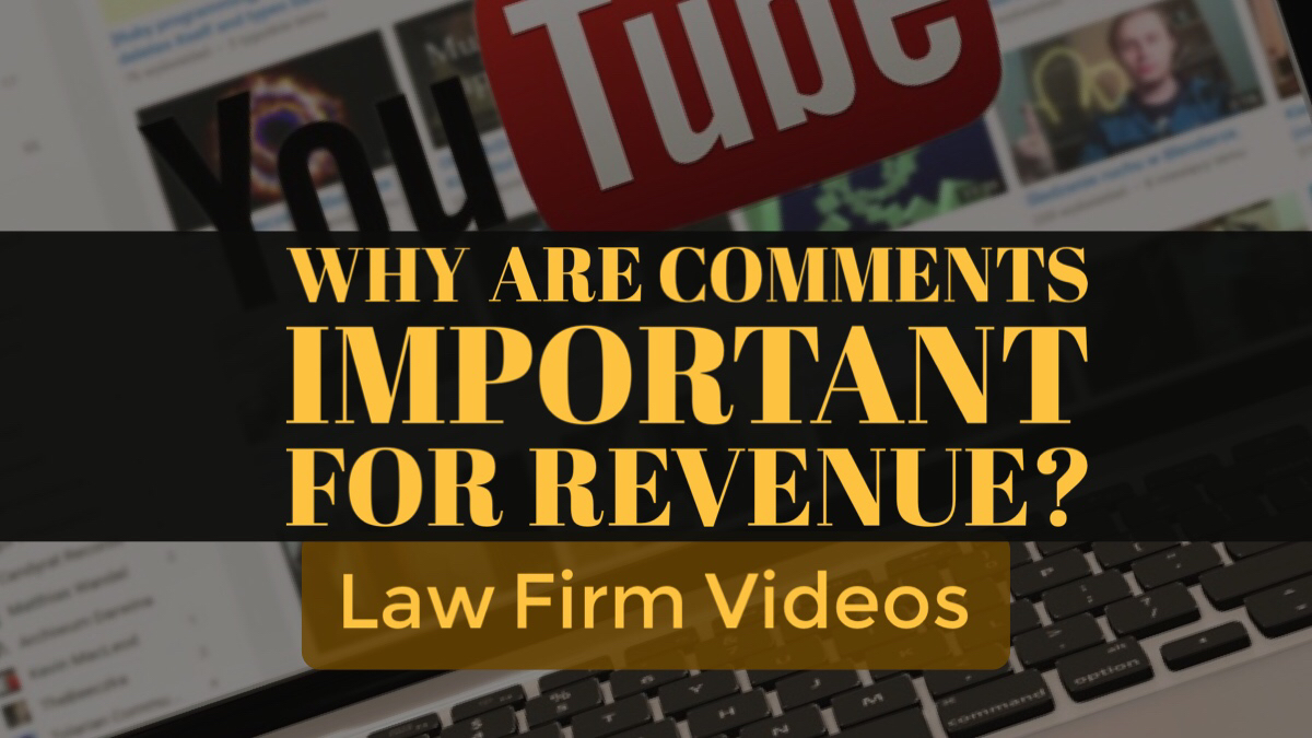 Why are comments important for revenue