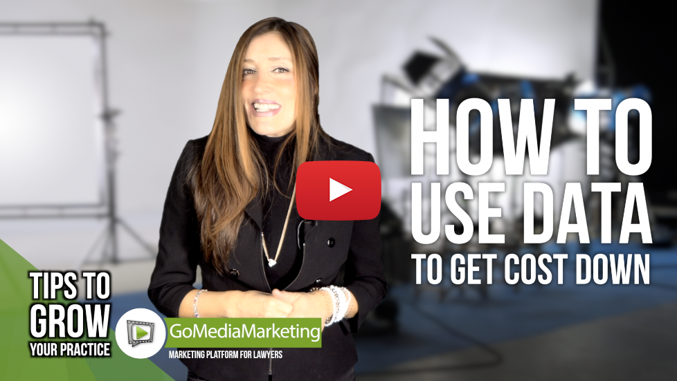 Legal Marketing Tip: How to use your data to get cost per case down
