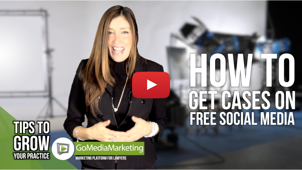 Legal Marketing Tip: How to utilize social media (free) to get cases