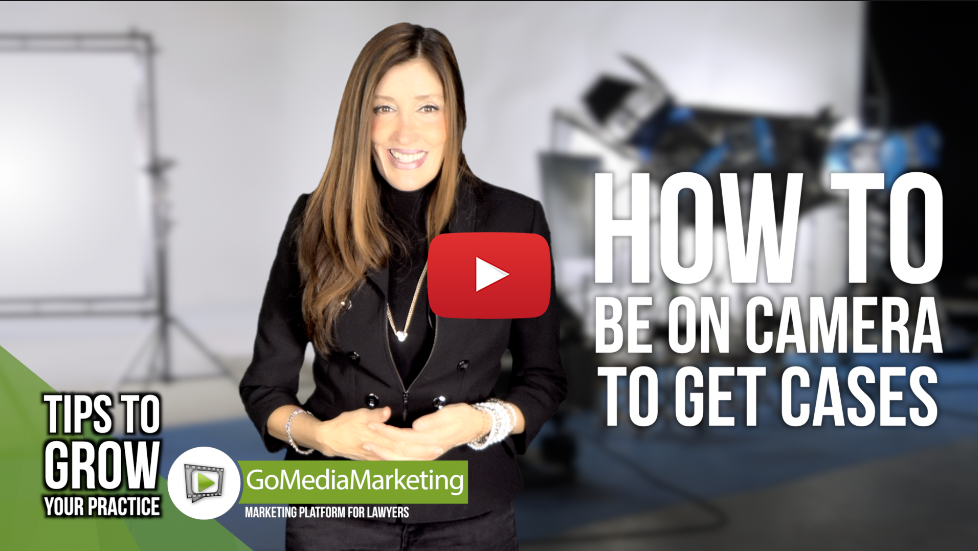 Legal Marketing Tip: How to present yourself on camera to get cases