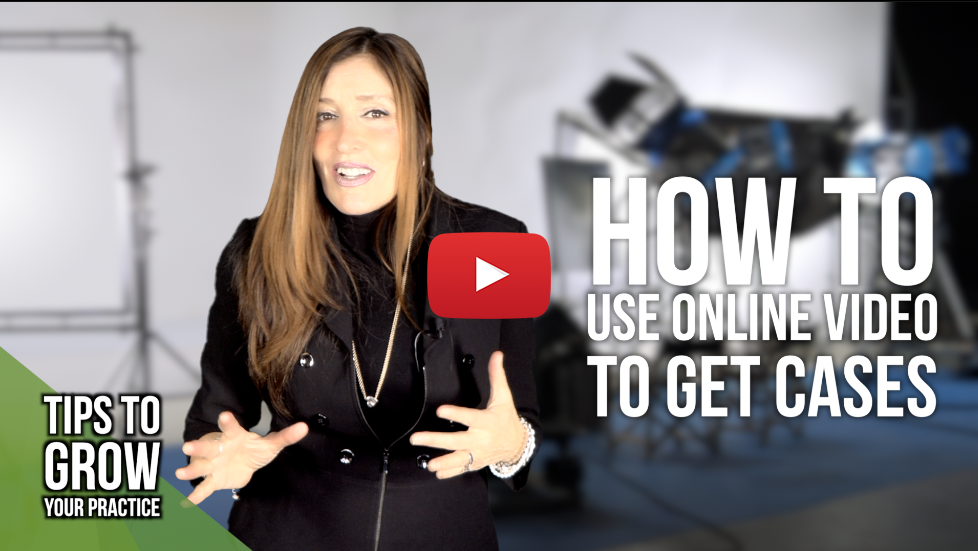 Legal Marketing Tip – Lawyers: How to use online video to get cases and what to expect