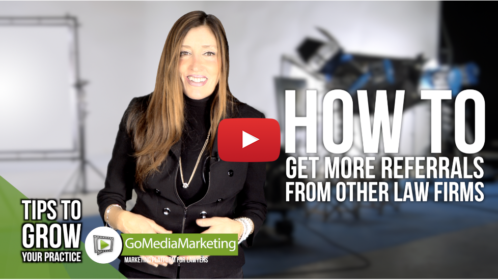 Legal Marketing TIP: How to get more referrals from other lawyers