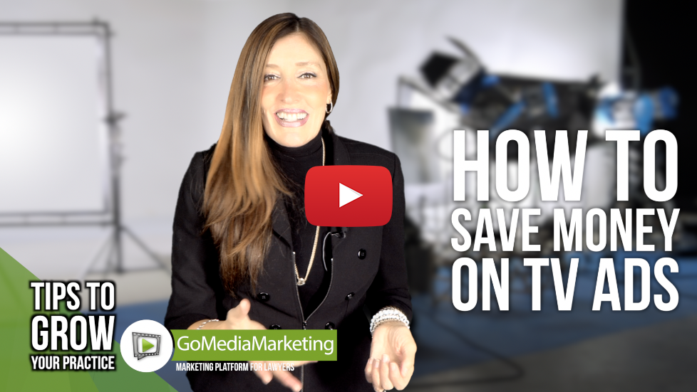 LEGAL MARKETING TIPS: How to Save Money on TV Advertising and get more cases (even if you have never been on TV)