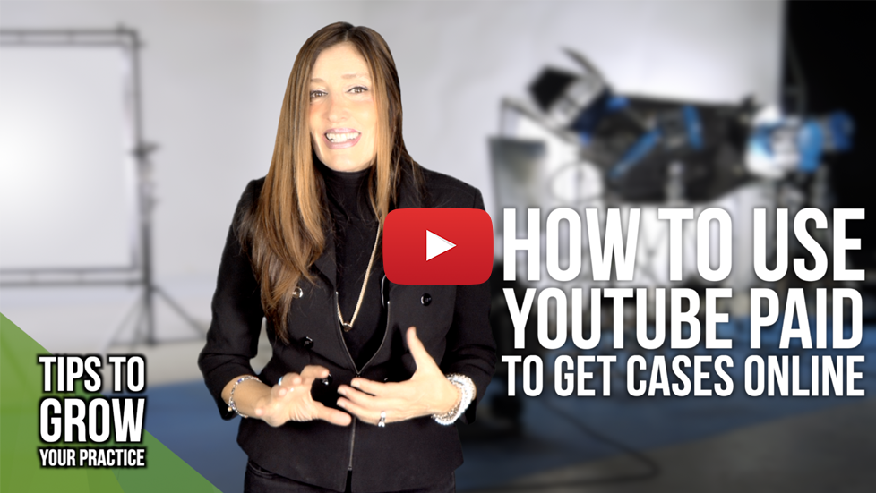 Lawyer Tip: How to use youtube paid advertising to get cases