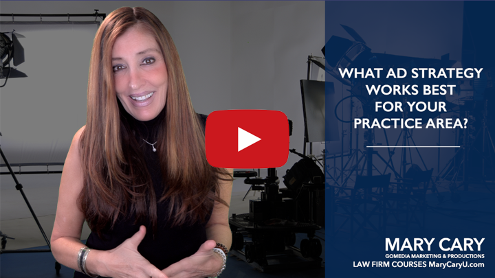 Legal Marketing: What Ad Strategy Works for Your Practice Area?